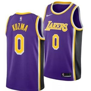 Los Angeles Lakers Kyle Kuzma Purple Jersey